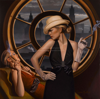 Pin by Allie Peters on Art   Art deco artists, Retro art